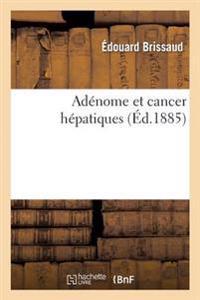Ad�nome Et Cancer H�patiques