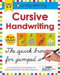 Wipe Clean Workbook: Cursive Handwriting