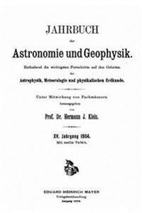 Jahrbuch Der Astronomie Und Geophysik