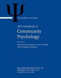 APA Handbook of Community Psychology