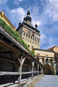 Sighisoara with Clock Tower and City Gate Romania Journal: 150 Page Lined Notebook/Diary