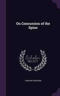 On Concussion of the Spine