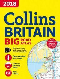 2018 Collins Big Road Atlas Britain