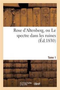 Rose D'Altenberg, Ou Le Spectre Dans Les Ruines. T. 1