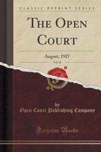 The Open Court, Vol. 41