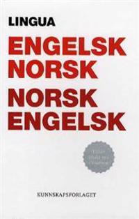 Lingua; engelsk-norsk, norsk-engelsk ordbok