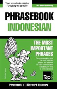 English-Indonesian Phrasebook and 1500-Word Dictionary