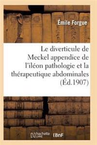 Le Diverticule de Meckel Appendice de L'Ileon