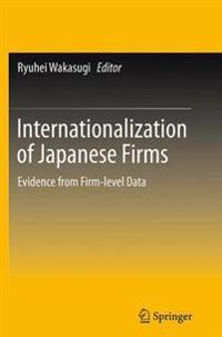 Internationalization of Japanese Firms