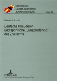 Deutsche Praejudizien Und Spanische Jurisprudencia Des Zivilrechts: Eine Vergleichende Gegenueberstellung
