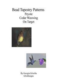 Bead Tapestry Patterns Peyote Cedar Waxwing on Target