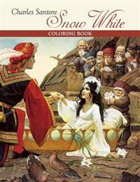 Charles Santore Snow White Coloring Book  Cb178