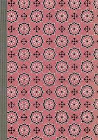Carnet Blanc, Motif Fleurettes, Papier Peint 18e