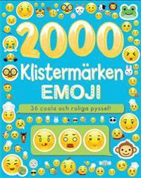 2000 klistermärken : emoji - 36 coola och roliga pyssel!