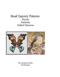 Bead Tapestry Patterns Peyote Fantastic Tufted Titmouse