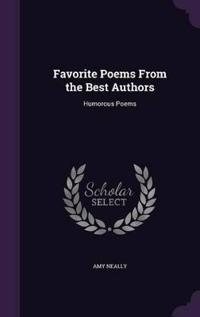Favorite Poems from the Best Authors