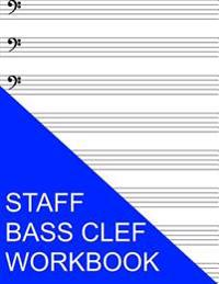 Staff Bass Clef Workbook