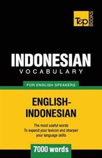 Indonesian Vocabulary for English Speakers - 7000 Words