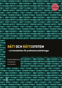 Rätt och rättssystem : en introduktion för professionsutbildningar