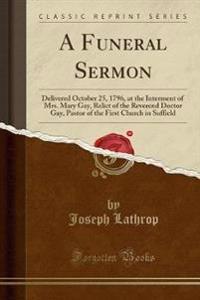 A Funeral Sermon