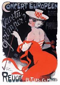 Carnet Blanc, Affiche Revue Veux-Tu Grimper ?