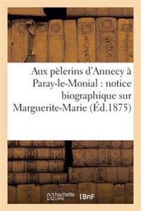 Aux P�lerins d'Annecy � Paray-Le-Monial