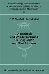 Anaesthesie Und Wiederbelebung Bei S uglingen Und Kleinkindern