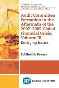 Audit Committee Formation in the Aftermath of the 2007-2009 Global Financial Crisis, Volume III: Emerging Issues