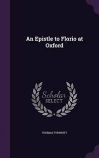 An Epistle to Florio at Oxford