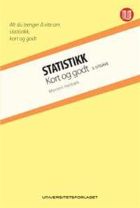 Statistikk; kort og godt