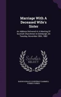 Marriage with a Deceased Wife's Sister