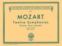 12 Symphonies - Book 1: Nos. 1-6: Piano Duet