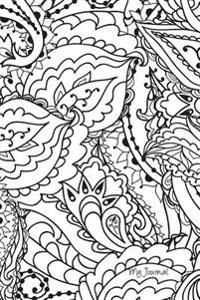 My Journal: Coloring Cover - Blank Lined Journal - 6x9