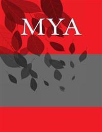 Mya: Personalized Journals - Write in Books - Blank Books You Can Write in