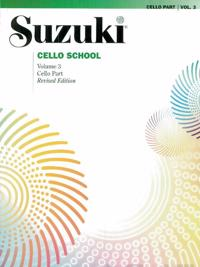 Suzuki Cello School, Vol 3: Cello Part