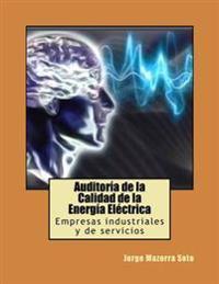 Auditoria de La Calidad de La Energia Electrica: Empresas Industriales y de Servicios