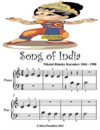 Song of India - Beginner Tots Piano Sheet Music