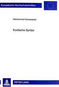 Kurdische Syntax: Suedkurdmadji