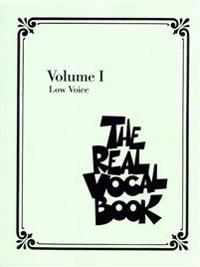 The Real Vocal Book Volume 1 - For Low Voices