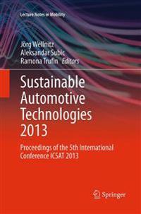 Sustainable Automotive Technologies 2013