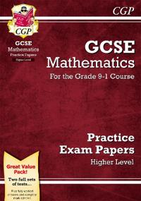 GCSE Maths Practice Papers  Higher - for the Grade 9-1 Course - CGP Books - pocket (9781782946632)     Bokhandel