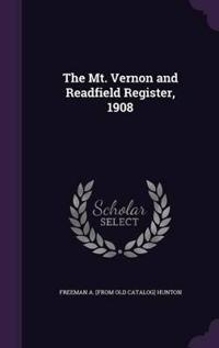 The Mt. Vernon and Readfield Register, 1908