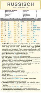 Russisch - Kurzgrammatik: Die komplette Grammatik anschaulich und verständlich dargestellt