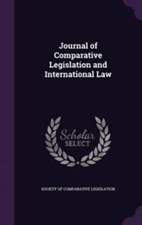 Journal of Comparative Legislation and International Law