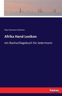 Afrika Hand Lexikon