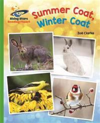 Reading Planet - Summer Coat, Winter Coat - Green: Galaxy