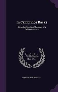 In Cambridge Backs