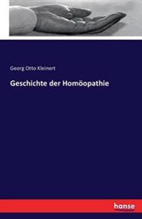 Geschichte Der Homoopathie
