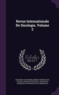 Revue Internationale de Sinologie, Volume 2