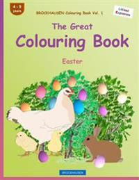 Brockhausen Colouring Book Vol. 1 - The Great Colouring Book: Easter